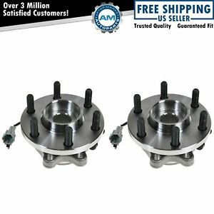 Front Wheel Hub Bearing Pair Set Of 2 For Nissan Frontier Pathfinder