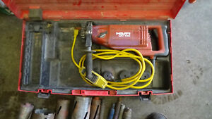 Hilti Dd 100 Diamond Core Drill W bits And More Heavy And Shipped By Your Quote