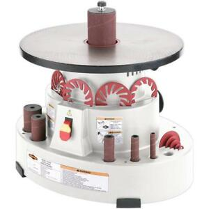 Shop Fox W1846 benchtop Oscillating Spindle Sander new For 2018