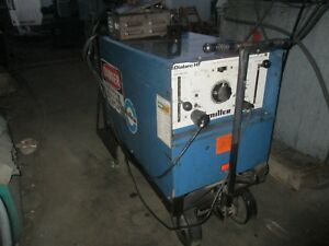 Miller Dialarc Hf Ac dc Gas Tungsten Arc Welding Power Source Cart And Pedal