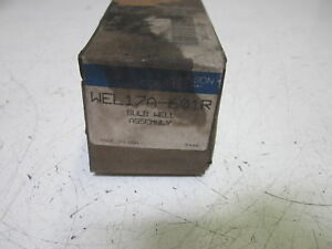 Johnson Controls Wel17a 601r Bulb Well Assembly used