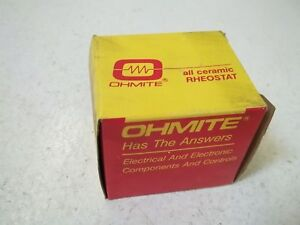 Ohmite 0323 Rjs300 Rheostat Model J 50watt 300 Ohms new In Box