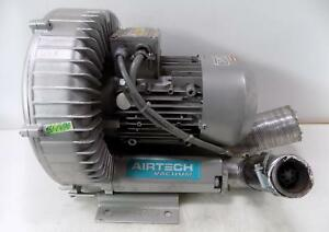 Airtech 1 6kw Vacuum Regenerative Blower pump 3ba15007at26