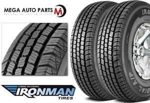 2 X New Ironman Radial A P Lt235 85r16 10p E 120 116q Bwl All Season Tires
