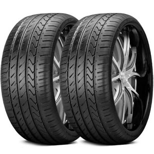 2 New Lexani Lx twenty 245 35r20 95w Xl All Season High Performance Tires