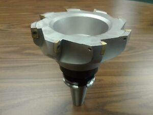 6 90 Degree Indexable Face Shell Mill Milling Cutter Cat40 Apkt z 2526 6080