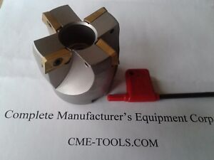 2 75 Degree Indexable Face Shell Mill Face Milling Cutter Apkt 506 75ap 20
