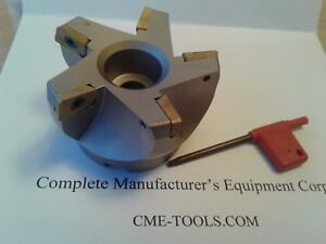 3 75 Degree Indexable Face Shell Mill face Milling Cutter Apkt 506 75ap 30