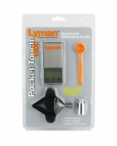 Lyman Pocket Touch 1500 Scale Kit wPowder Pal Funnel Pan & Powder Scoop 7750725