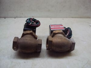 J D Gould M4 3v Air And Water Solenoid Valve