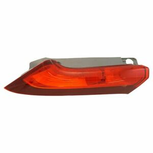 Rear Tail Light Lamp Assembly Upper Driver Side Lh Lr For Honda Cr V Crv Suv New