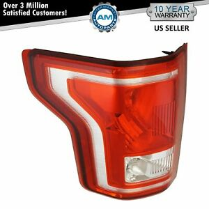 Rear Tail Light Lamp Assembly Driver Side Lh Lr For Ford F 150 Pickup Truck New