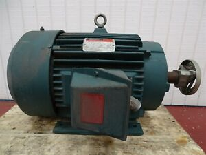 Reliance Electric P28g3319g 15hp 1180rpm 3ph 60hz 1 15sf Tefc 284t Frame