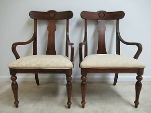 One Ethan Allen British Classics Dining Room Arm Chair