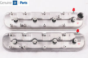 Ls9 Corvette Lsa Cts V Zl1 Bare Valve Covers W Gaskets And Bolts New Gm Pair