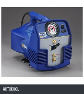 Yellow Jacket Refrigeration Air Conditioning Refrigerant Recovery Machine Yj lte