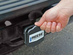 New Reese Receiver Trailer Tow Hitch Tube Cover Spring Loaded 2 Inch Protective