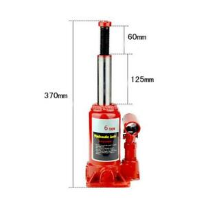 6 Ton Poratable Hydraulic Bottle Jack Car Emergency Tire Repair Lift Tool