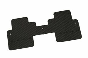 New 2007 2017 Gmc Acadia New Factory Oem 2nd Row Floor Mat All Weather Black