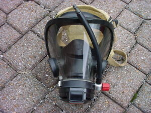 Scott Av3000 Face Mask regulator Fire Dept Fireman Firefighter Scba Air Pack