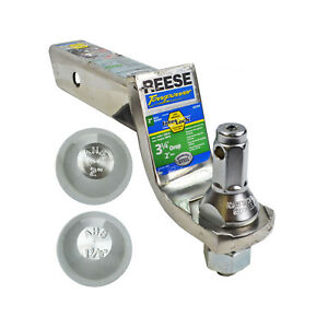 Set Reese Trailer Hitch 2 Receiver Insert 3 1 4 Drop Mount 2 Balls 1 7 8 2