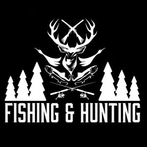 Fishing Hunting Letter Animal Pattern Truck Car Stickers Window Decals Pretty