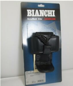 Bianchi 22704 Accumold Elite 7923 Adjustable Plain Black Radio Holder Size 1
