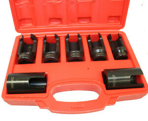 7pc Special Auto Injector Socket Tool Set 25mm 27mm 28mm 29mm 30mm