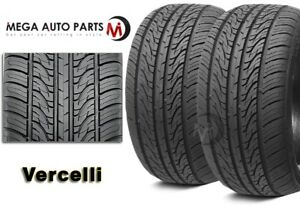 2 New Vercelli Strada Ii 235 50r17 100w Xl All Season Performance Tires