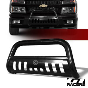 For 2004 2012 Chevy Colorado Black Bull Bar Brush Push Bumper Grill Grille Guard