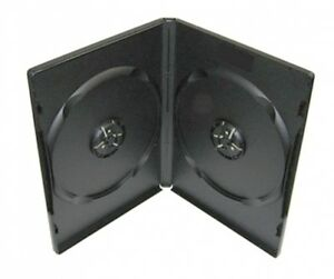 1200 Standard Black Double Dvd Cases machinable Quality