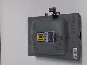 Square D 30amp 240vac 3phase Safety Switch D321 n