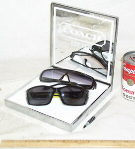 New Coach Eyewear Eyeglass Eye Mirror Store Advertising Display Stand Shelf Usa