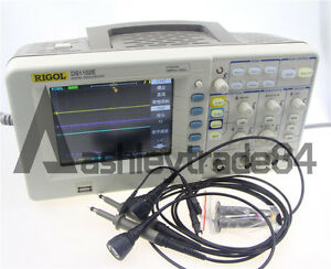Rigol Digital Storage Oscilloscope Ds1102e 100mhz 1gs s 2 channels New