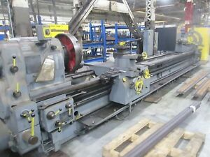 Tos Large Engine Lathe 35 X 20 Model Su 90a 900 Mm X 6000 Mm Nice