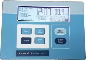 Rich mar Autosound 5 6 Therapeutic Ultrasound Lcd Display Button Panel