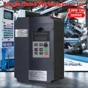 220v 3hp Single Phase Motor Speed Control Variable Frequency Drive Inverter Cnc