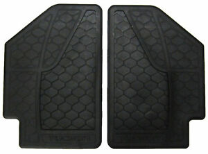 New Fits 2005 2009 Hyundai Tucson Alll Weather Floormats Rubber Rear Black