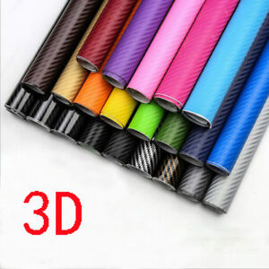 3d Carbon Fiber Matte Vinyl Film Auto Car Stylish Sheet Wrap Roll Sticker Decor