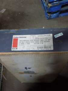 Cutler hammer Safetybreaker Main Breaker Panel 150a 30 Pole 1ph Ch30jjm150r Nib
