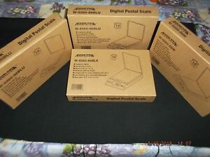 L k Lot Of 4 Postal kitchen Weight Scales 86lb In Factory Boxes 10 Yr Waranty