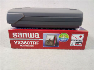 New Sanwa Yx 360trf Linear Analog Multimeter Tester Yx360trf