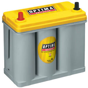 Optima Batteries 9171 767 Yellowtop Deep Cycle Battery 12 Volts Model Ds46b24r T
