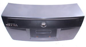 Trunk Lid Deck Boot W Lip 99 05 Vw Jetta Mk4 Boot Ld7x Platinum Grey