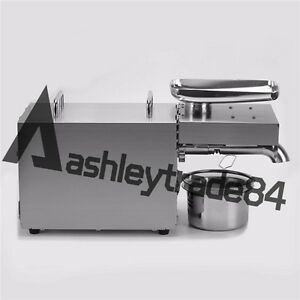 Automatic Oil Press Stainless Steel Peanut Seed Expeller Rg 306 110v