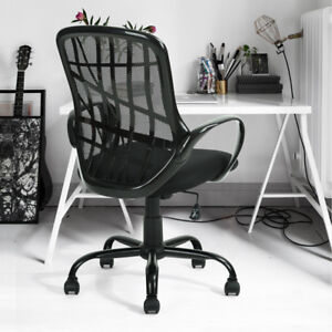 Adjustable Swivel Ergonomic Mesh Mid back Executive Computer Office Chairs