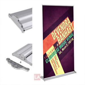 32 X 79 Deluxe Aluminum Rollup Retractable Banner Stand 26804