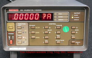 Keithley 263 Calibrator source Completely Operational In All Respects