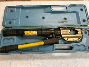 no Dies Reliable Equipment Rel 430 12 Ton Hydraulic Crimper Crimping Tool