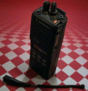 Motorola Mts2000 Handie Talkie 800 Mhz Radio W flashport